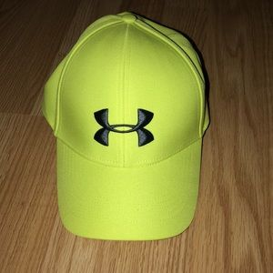 Under Armour lime green hat